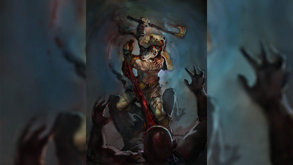 Воин в медвежьей шкуре - берсерк и его ярость