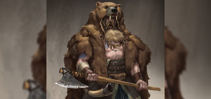 Воин в медвежьей шкуре