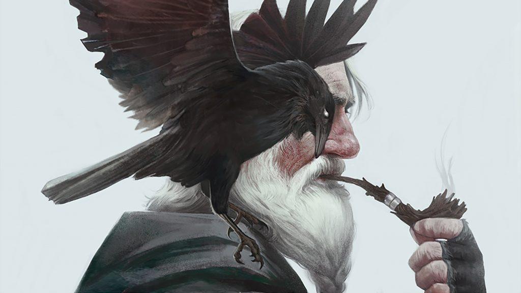 Один и Вороны - Хугин и Мунин