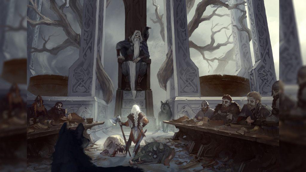 Скандинавская мифология: Вальхалла Один верховный бог миры