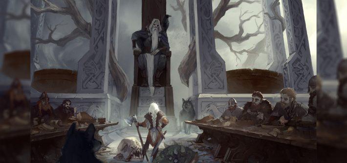 валькирия дева воительница одина скандинавская мифология