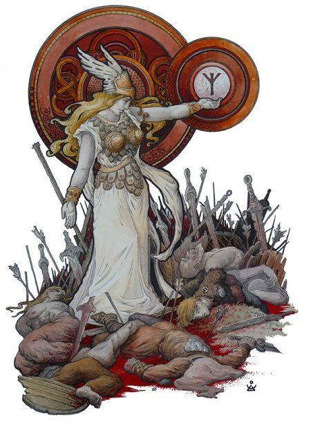 Хильд - одна из Валькирий в Скандинавской мифологии