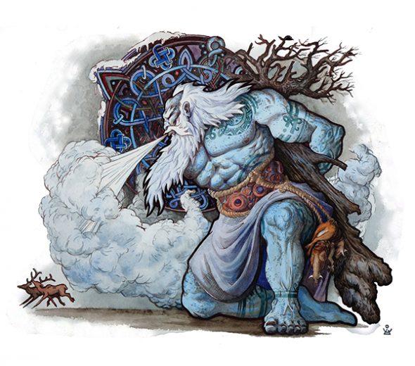 Инеистый великан Имир