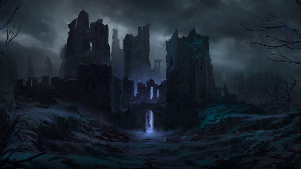 Хельхейм - мир мёртвых царство Хель