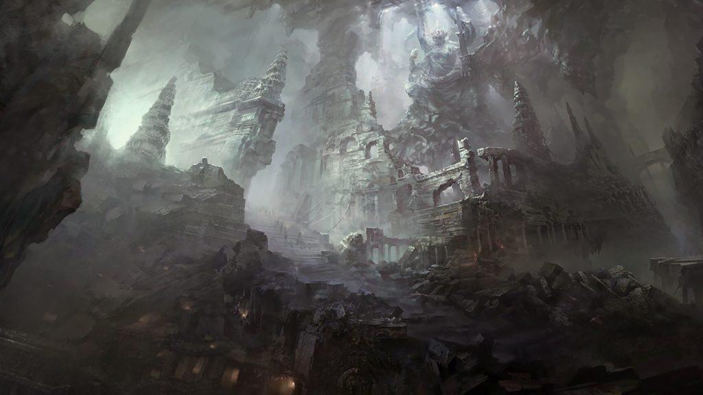 Свартальвхейм - подземный мир карликов гномов тёмных альвов