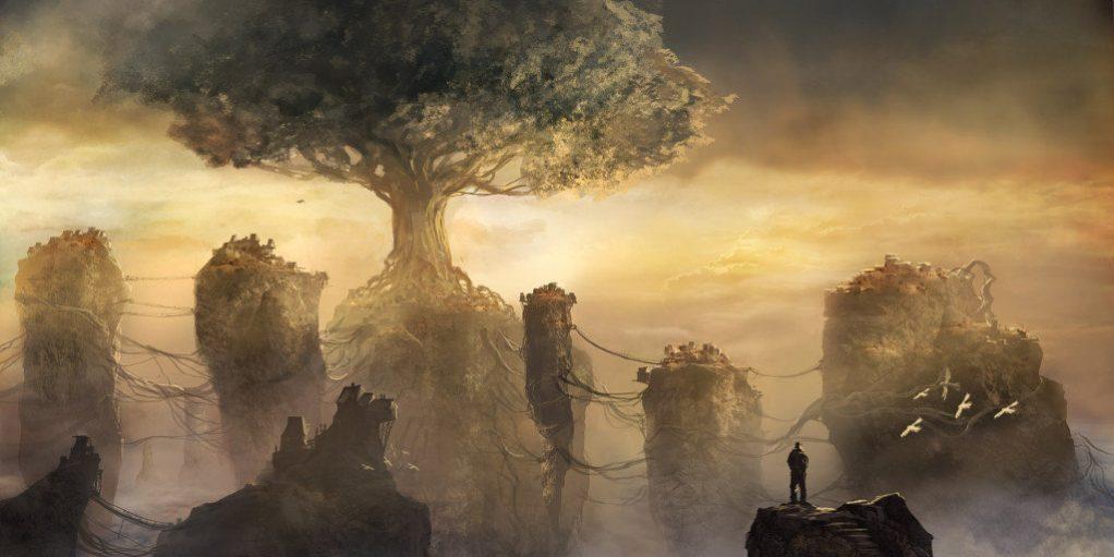 Мировое дерево - Иггдрасиль Jeff-Brown