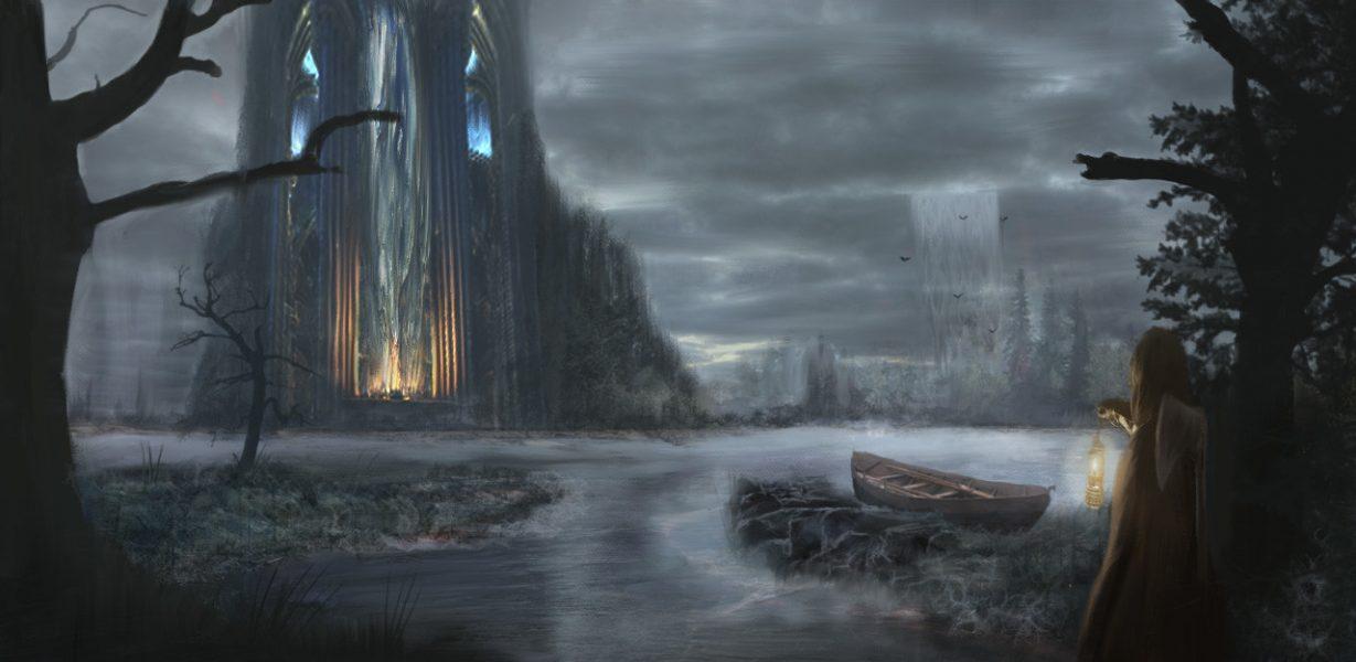 Хельхейм - подземное царство мертвых правит в нем богиня смерти Хель