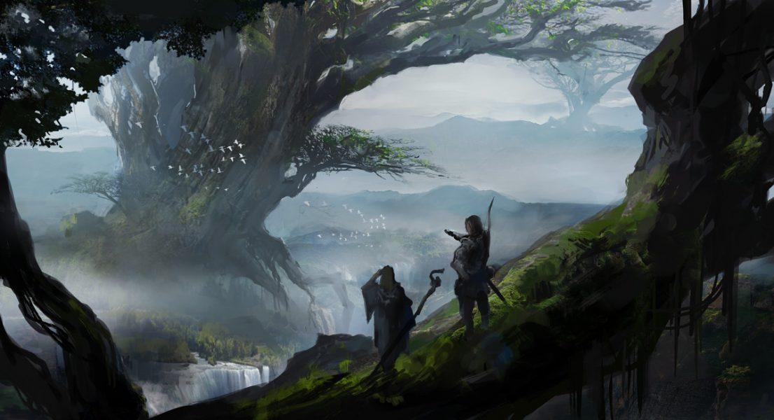Мировой ясень Иггдрасиль в тумане - haru aki