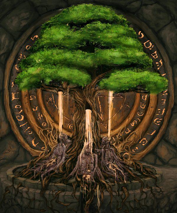 Мировое дерево жизни - Ихор - caelan stokkermans