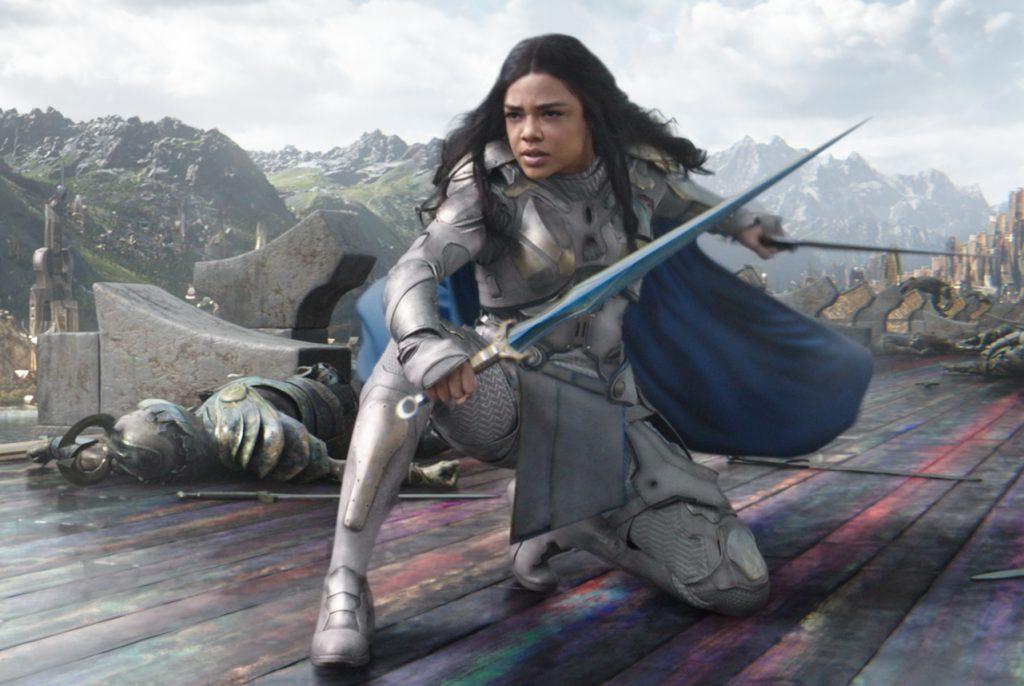Thor 3: Ragnarok valkyrie Тесса Томпсон