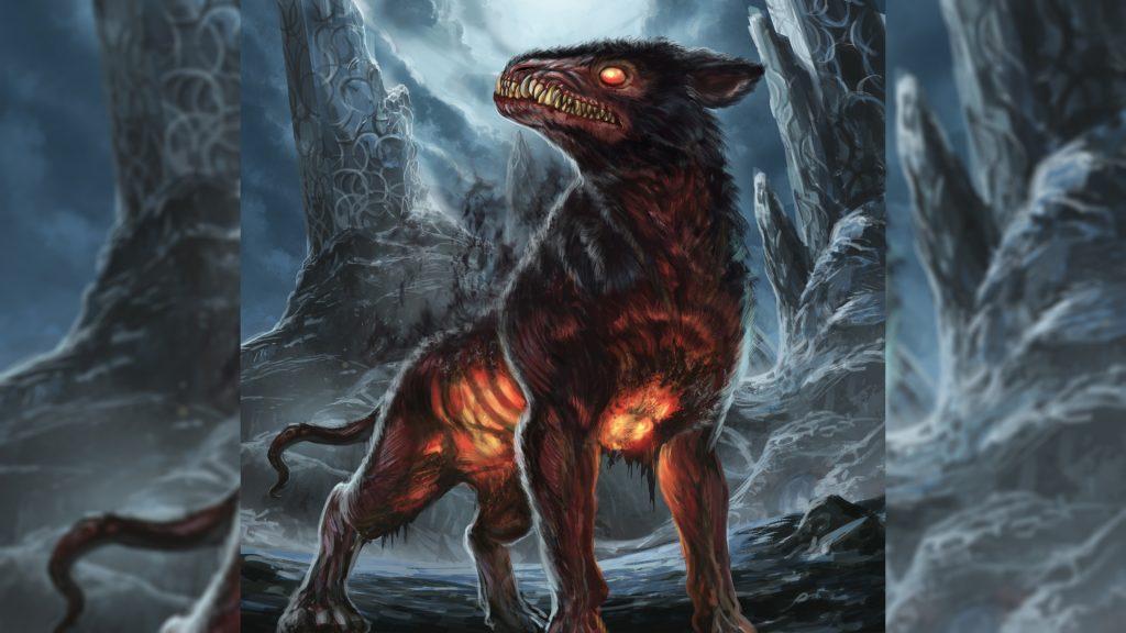 Гарм - верный пёс богини смерти Хель
