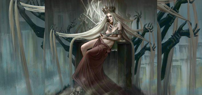 Хель - богиня смерти в скандинавской мифологии царица Хельхейма