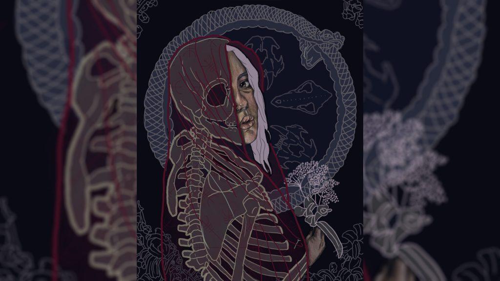 Хель - богиня смерти и царства мёртвых в скандинавской мифологии