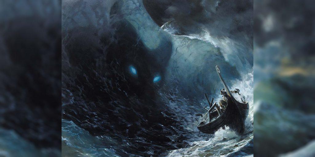 рыбалка тора ёрмунганд лодка морское чудовище
