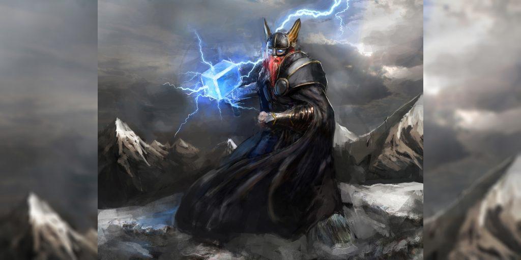 Тор - скандинавский бог грома