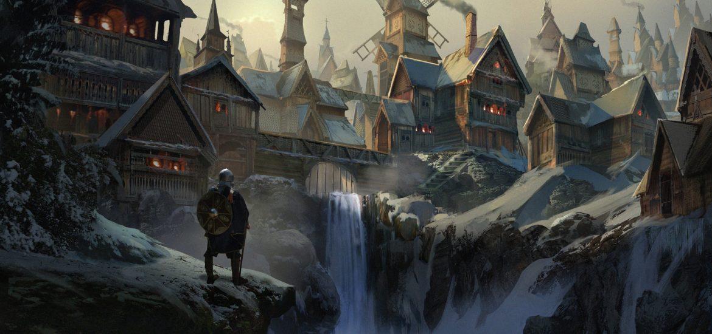 Вальгалла - дворец павших воинов