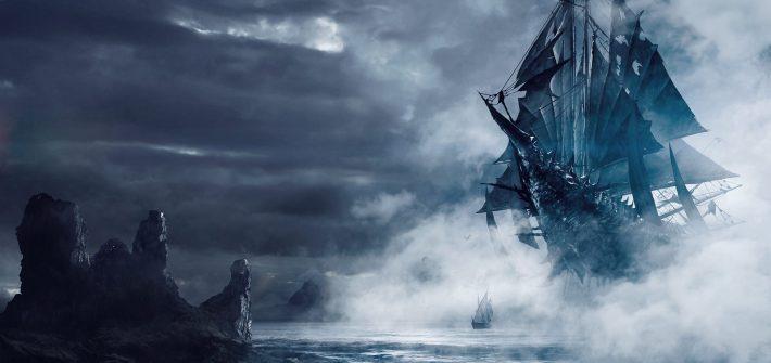 Нагльфар - Корабль из ногтей мертвецов рагнарёк скандинавская мифология ведьмак 3 дикая охота