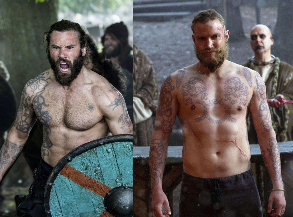 Татуировки викингов - Ролло и Кнут