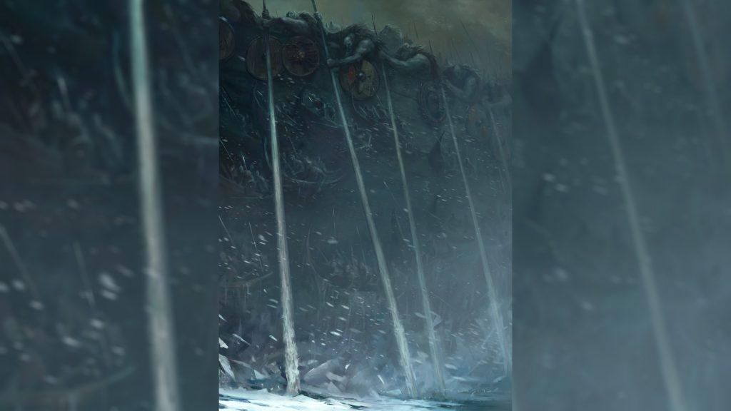 Чёрный корабль Нагльфар из ногтей мертвецов скандинавская мифология Рагнарёк