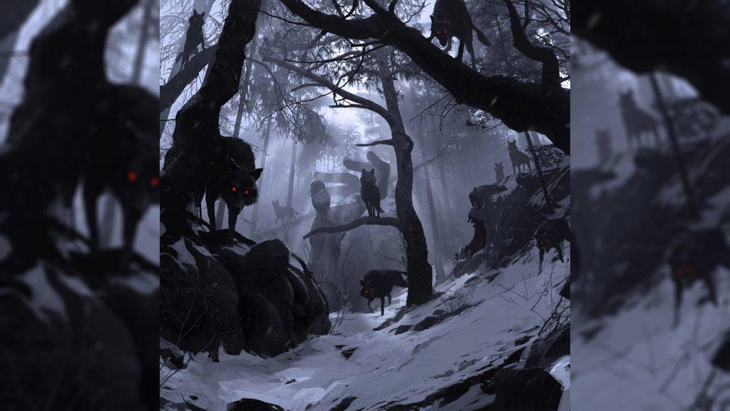 Волчья стая Ульфхеднар Ульфхедин воин-волк мифология скандинавская